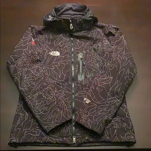 North Face fleece lined jacket.